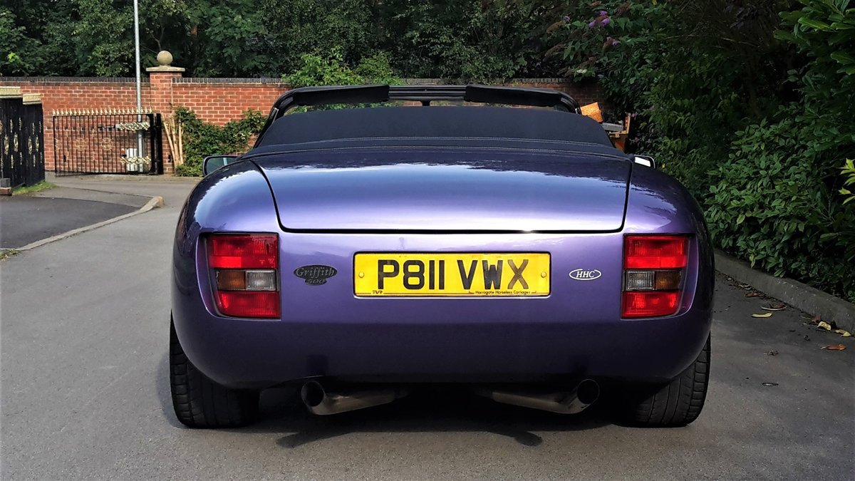 SUPER LOW MILEAGE1997 TVR GRIFFITH 5.0 V8 / PX For Sale (picture 3 of 6)