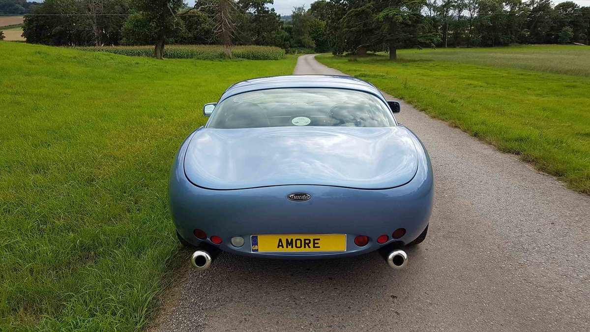 2001 Special! Paris Blue Powers 4.3 Mk1 TVR Tuscan Only 34k miles For Sale (picture 4 of 6)