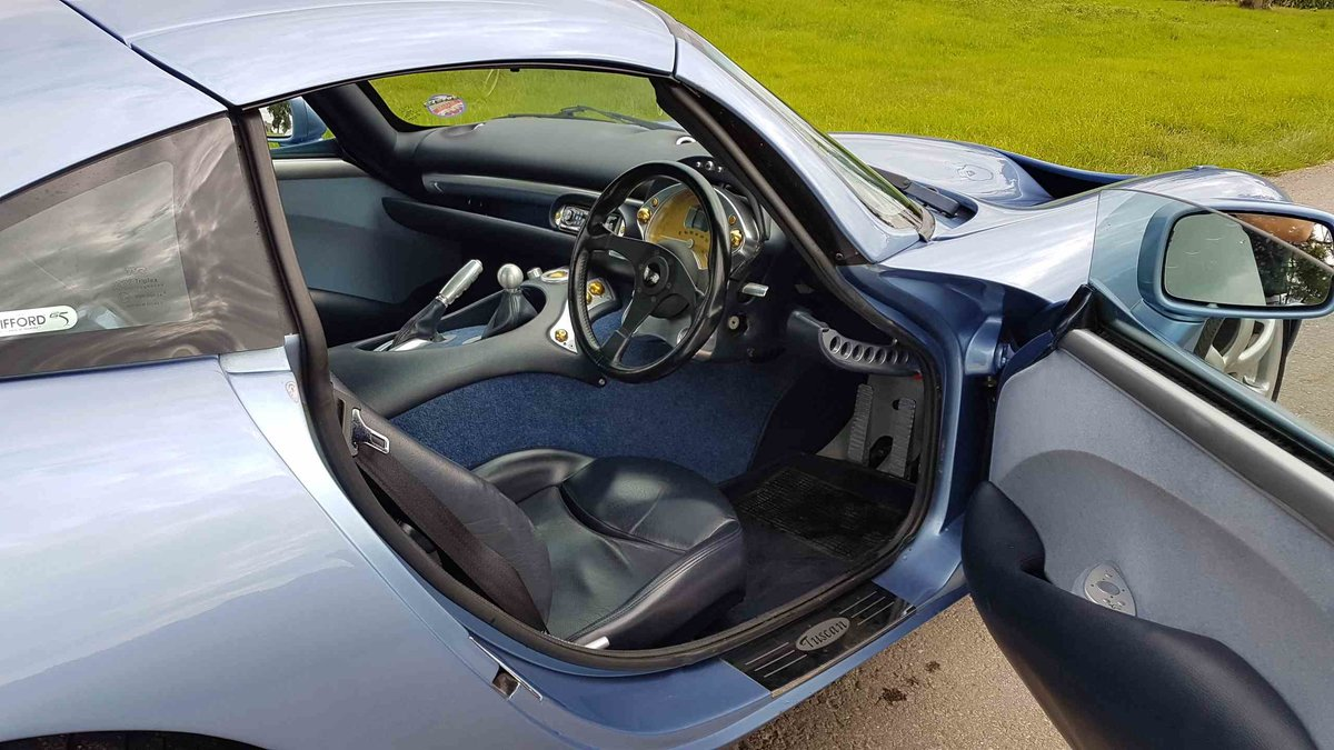 2001 Special! Paris Blue Powers 4.3 Mk1 TVR Tuscan Only 34k miles For Sale (picture 5 of 6)