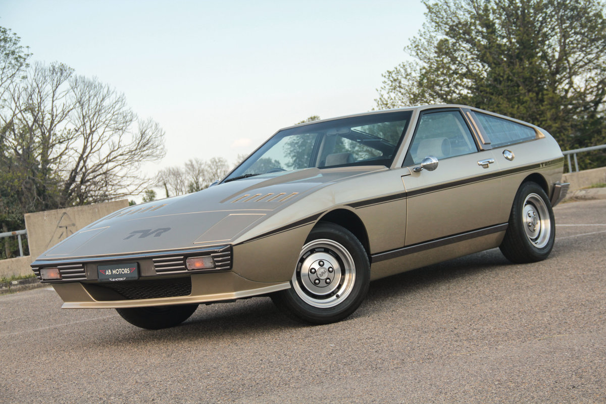 RARE stunning 1981 TVR Tasmin 280i 2-seater Auto For Sale (picture 1 of 6)