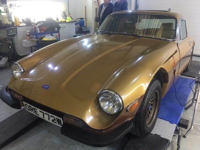 1980 Tvr taimar body off full mechanical  restoration For Sale (picture 2 of 6)