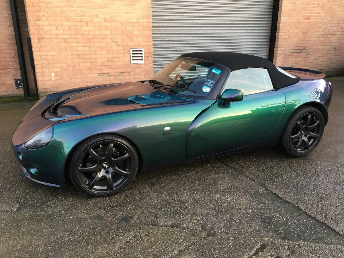 2003 Tvr tamora reflex green SOLD (picture 1 of 6)