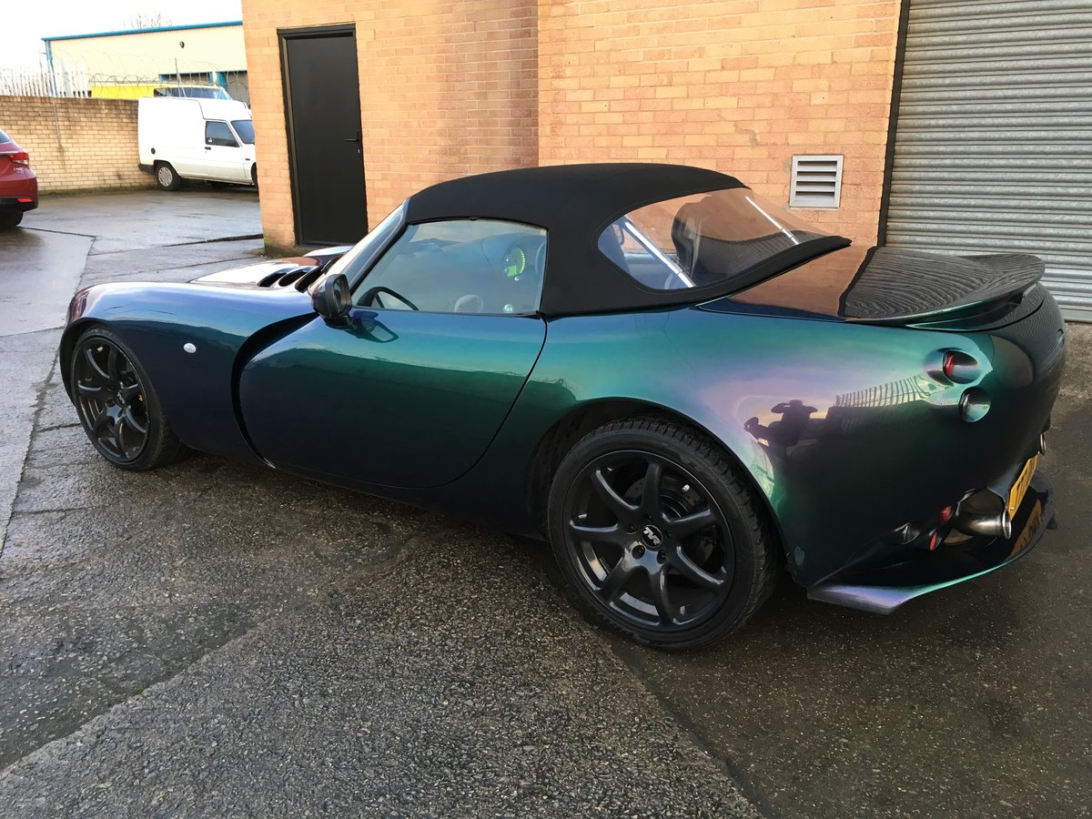 2003 Tvr tamora reflex green SOLD (picture 2 of 6)