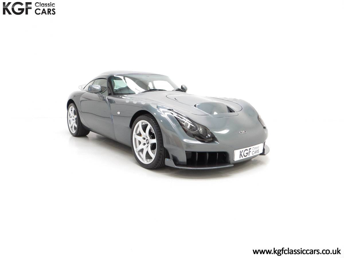 2005 A Wonderfully Insane TVR Sagaris with Just 6,300 Miles SOLD (picture 1 of 6)