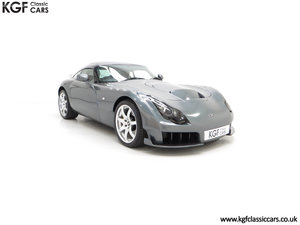 2005 A Wonderfully Insane TVR Sagaris with Just 6,300 Miles For Sale
