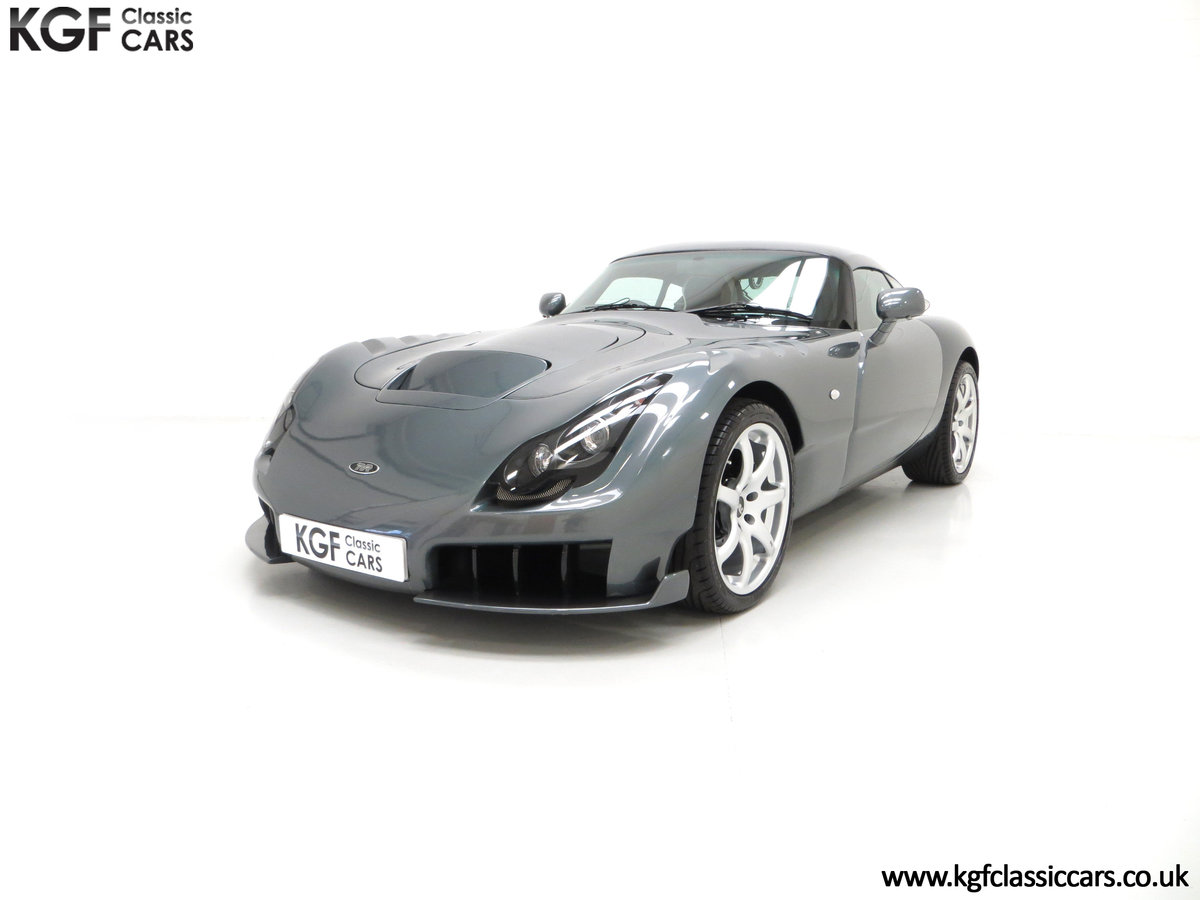 2005 A Wonderfully Insane TVR Sagaris with Just 6,300 Miles SOLD (picture 2 of 6)