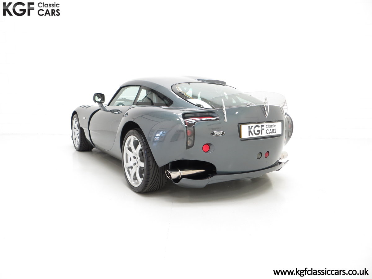 2005 A Wonderfully Insane TVR Sagaris with Just 6,300 Miles SOLD (picture 4 of 6)