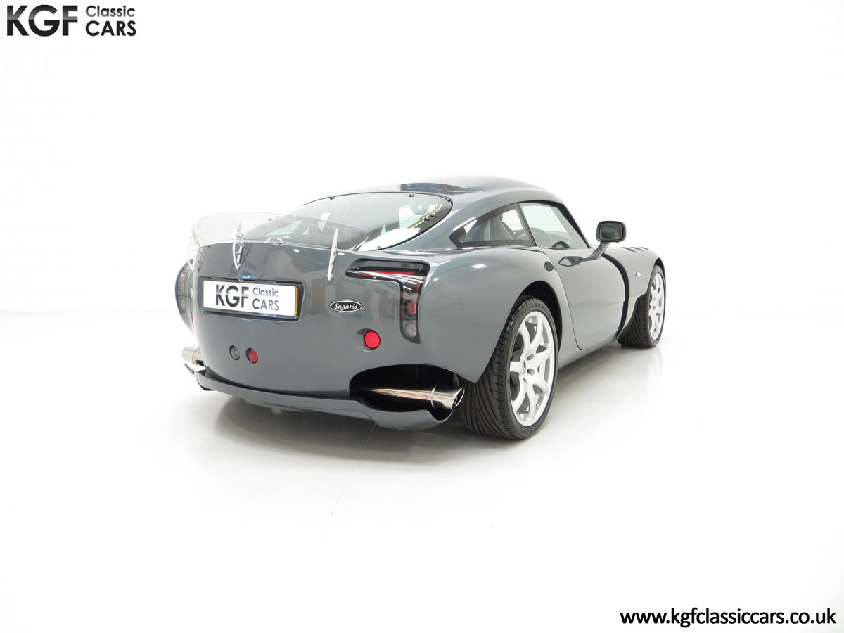 2005 A Wonderfully Insane TVR Sagaris with Just 6,300 Miles SOLD (picture 5 of 6)