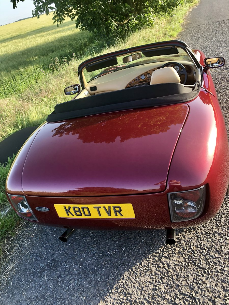 1992 TVR Griffith 400 Pre-Cat V8 - may p/x Mustang etc. For Sale (picture 2 of 6)