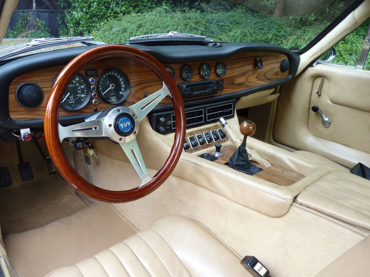 1977 A beautiful TVR 2500 M in BRG.  LHD For Sale (picture 4 of 6)