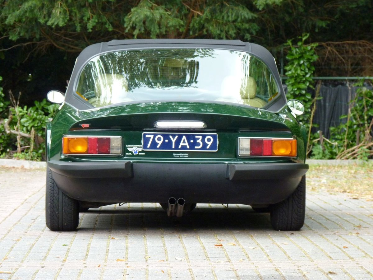 1977 A beautiful TVR 2500 M in BRG.  LHD For Sale (picture 5 of 6)
