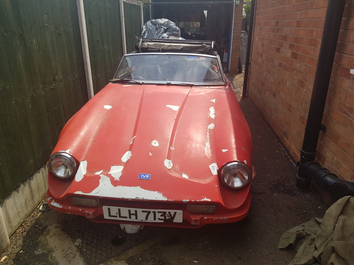 1979 Tvr 3000s project car For Sale (picture 1 of 4)