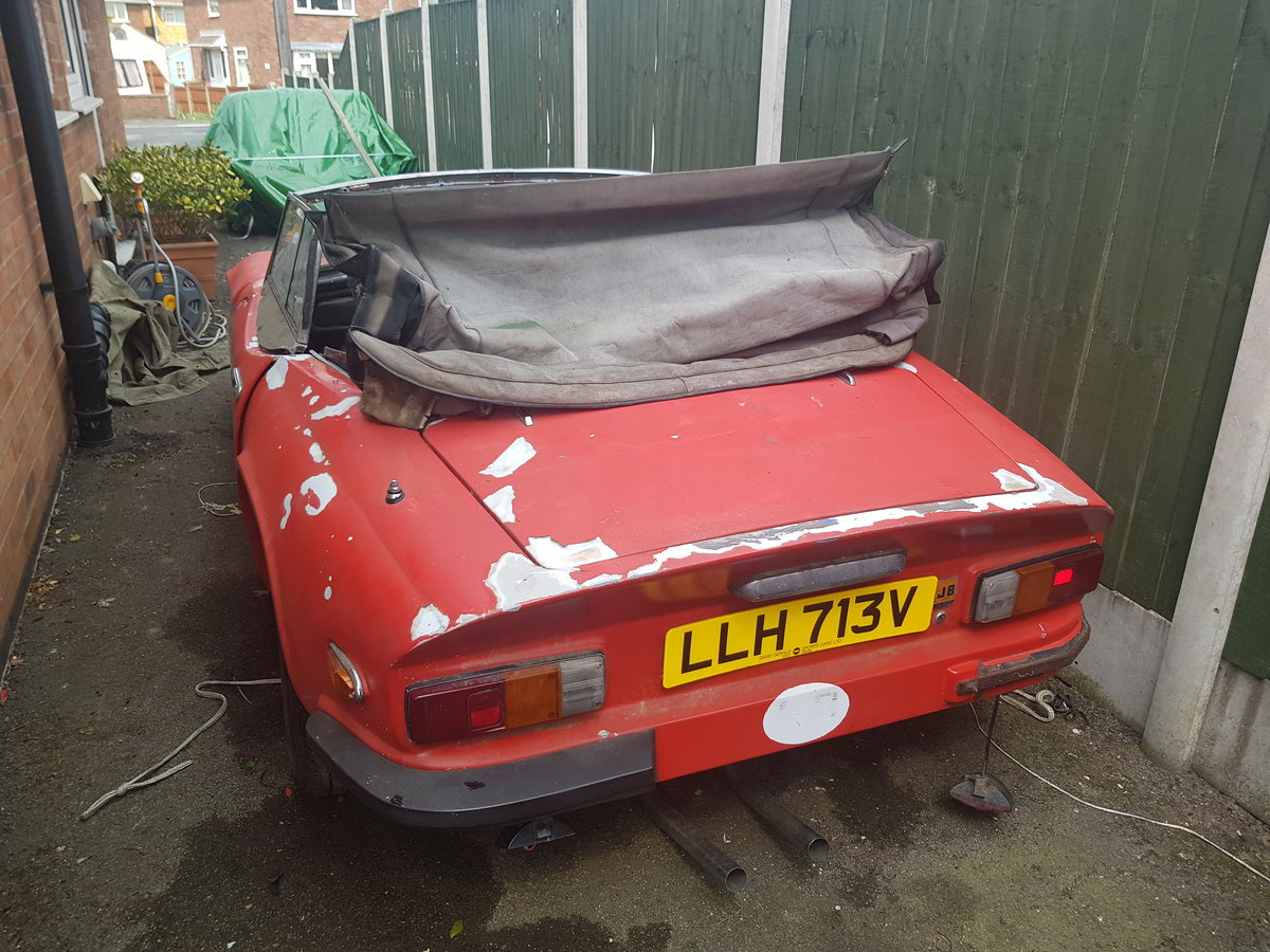 1979 Tvr 3000s project car For Sale (picture 3 of 4)