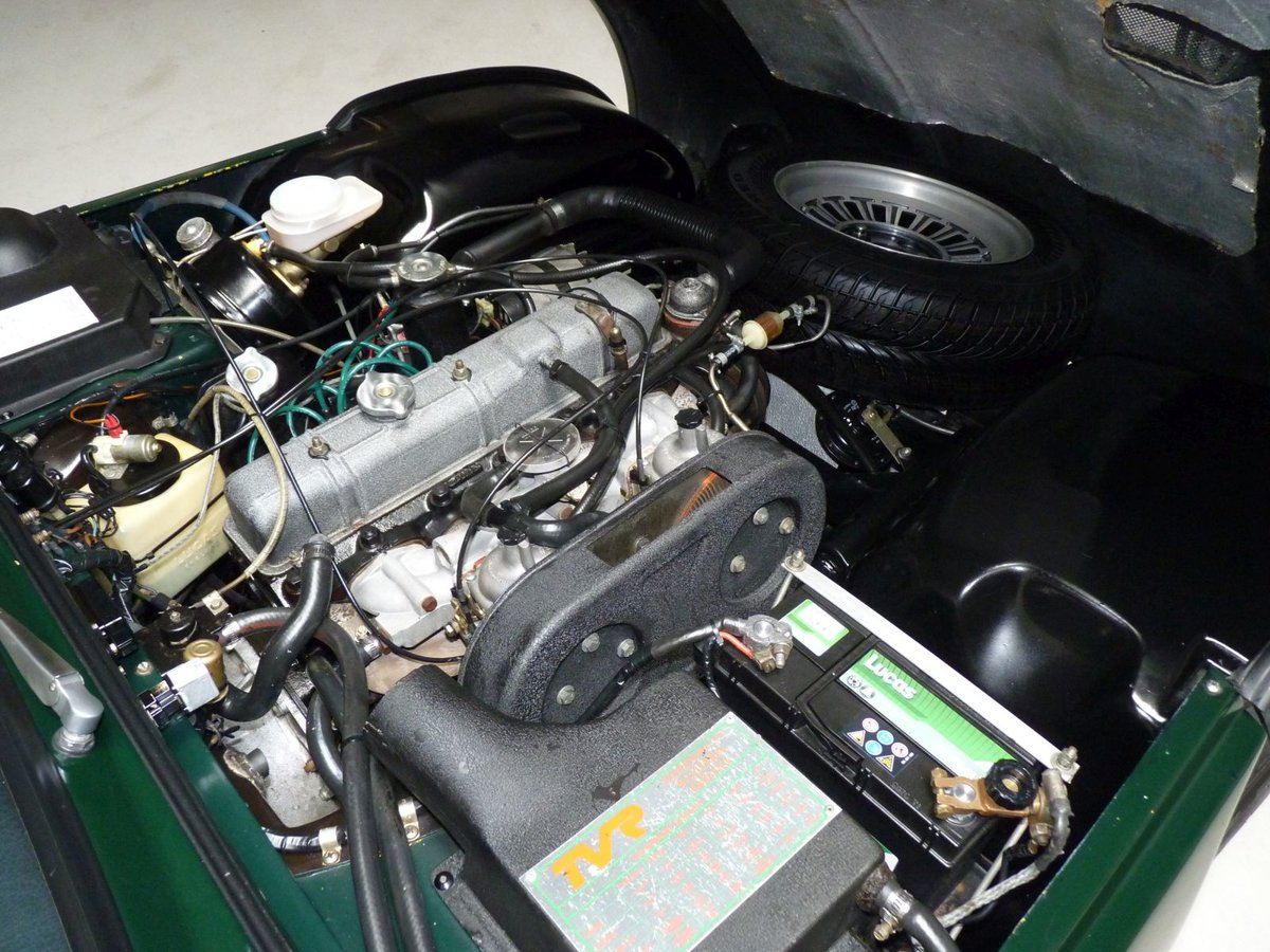1977 A beautiful TVR 2500 M in BRG.  LHD For Sale (picture 6 of 6)
