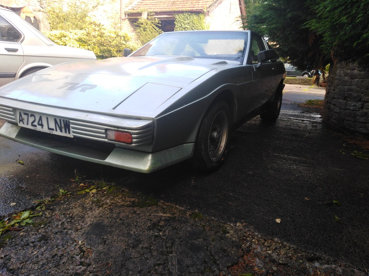 1983 Tvr fhc wedge low mileage for recommissioning For Sale (picture 1 of 6)