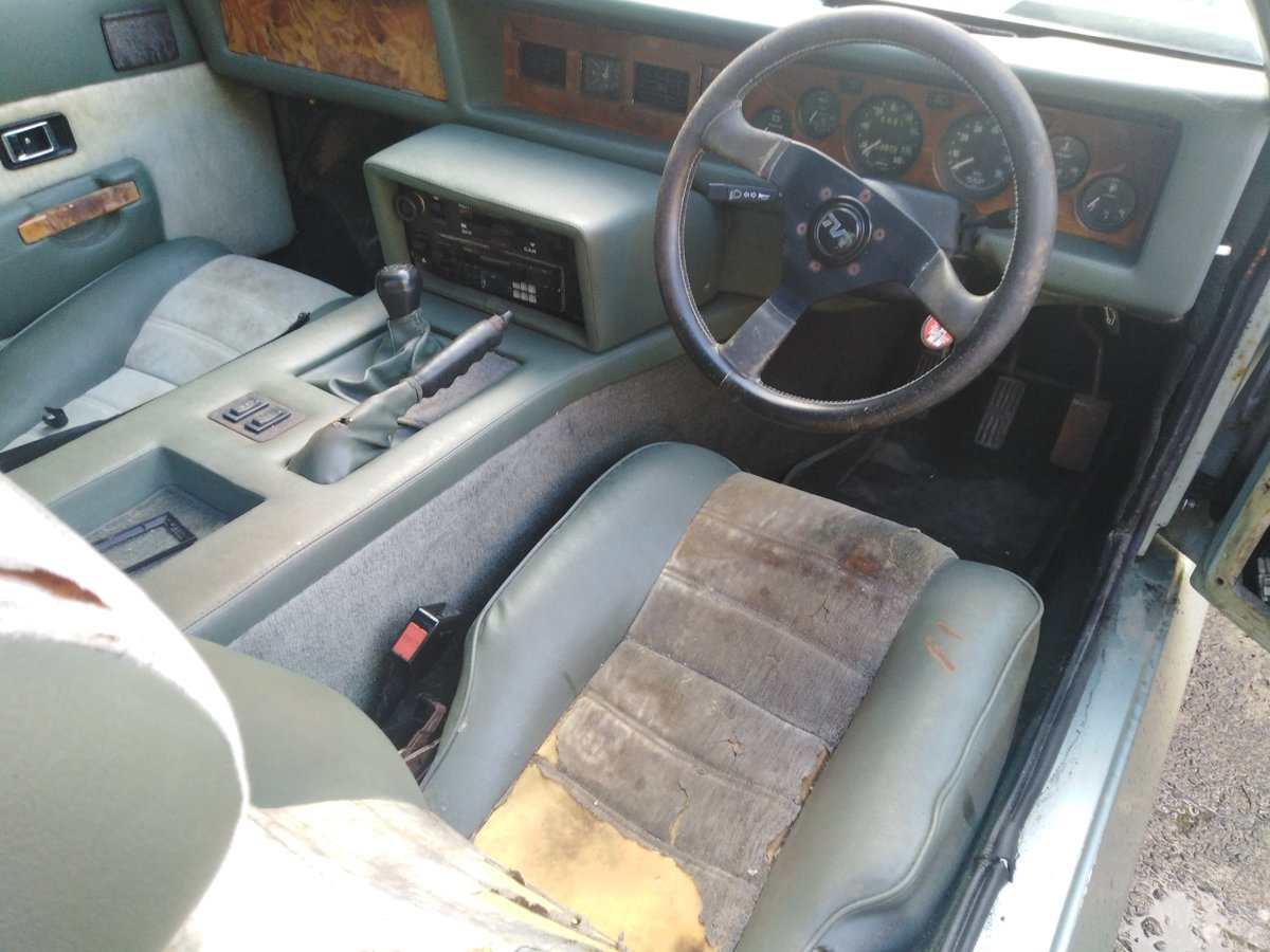 1983 Tvr fhc wedge low mileage for recommissioning For Sale (picture 3 of 6)