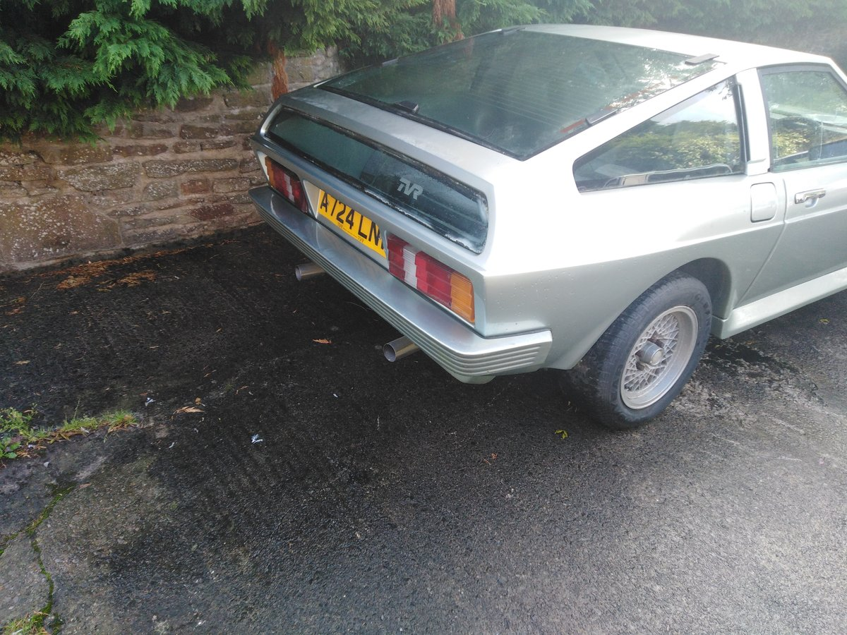 1983 Tvr fhc wedge low mileage for recommissioning For Sale (picture 4 of 6)