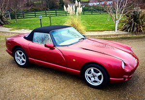 1997 TVR CHIMAERA 400 V8 + PAS - JUST 19200 MILES FSH SUPERB - PX