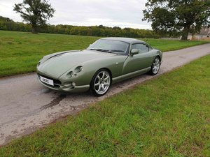 1999 Sage Green 4L TVR Cerbera Powers Rebuild at 34k
