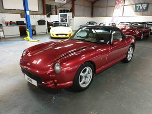 4.3 TVR Chimaera (Only 42 on the road) 1993 Cherry Red Pearl For Sale
