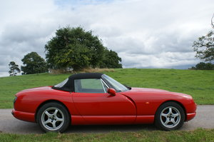 1994 TVR 4.0 Chimaera Formula Red with Slate Interior Only