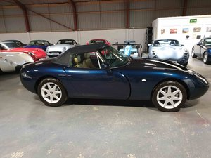 TVR Griffith 500 SE, Number 4 of 100.  Starmist Blue - Cream
