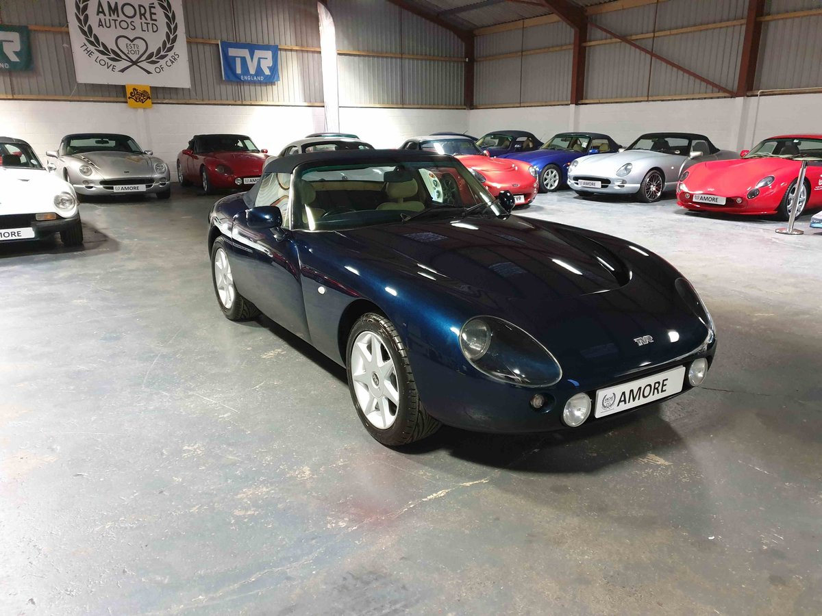 2001 TVR Griffith 500 SE, Number 4 of 100.  Starmist Blue - Cream For Sale (picture 3 of 6)