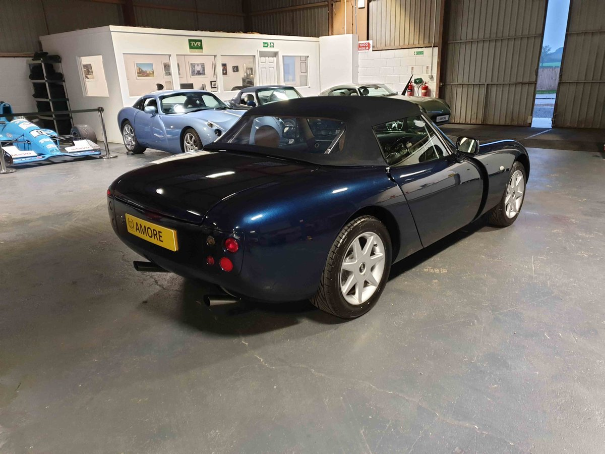 2001 TVR Griffith 500 SE, Number 4 of 100.  Starmist Blue - Cream For Sale (picture 4 of 6)
