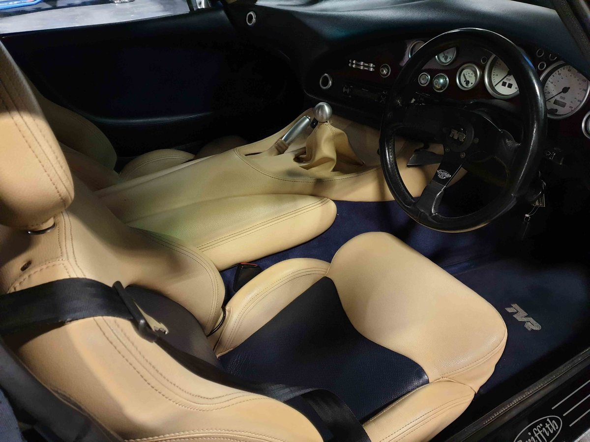 2001 TVR Griffith 500 SE, Number 4 of 100.  Starmist Blue - Cream For Sale (picture 5 of 6)