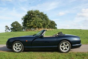 1996 N, TVR Chimaera 400HC in Metallic Starmist Blue Low own