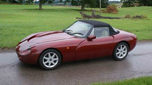 1994 Deposit Taken -TVR Grif 500 with PAS. Ruby Mica Red Metallic SOLD
