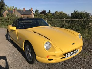 1999 TVR chimaera 400 yellow 7600 miles