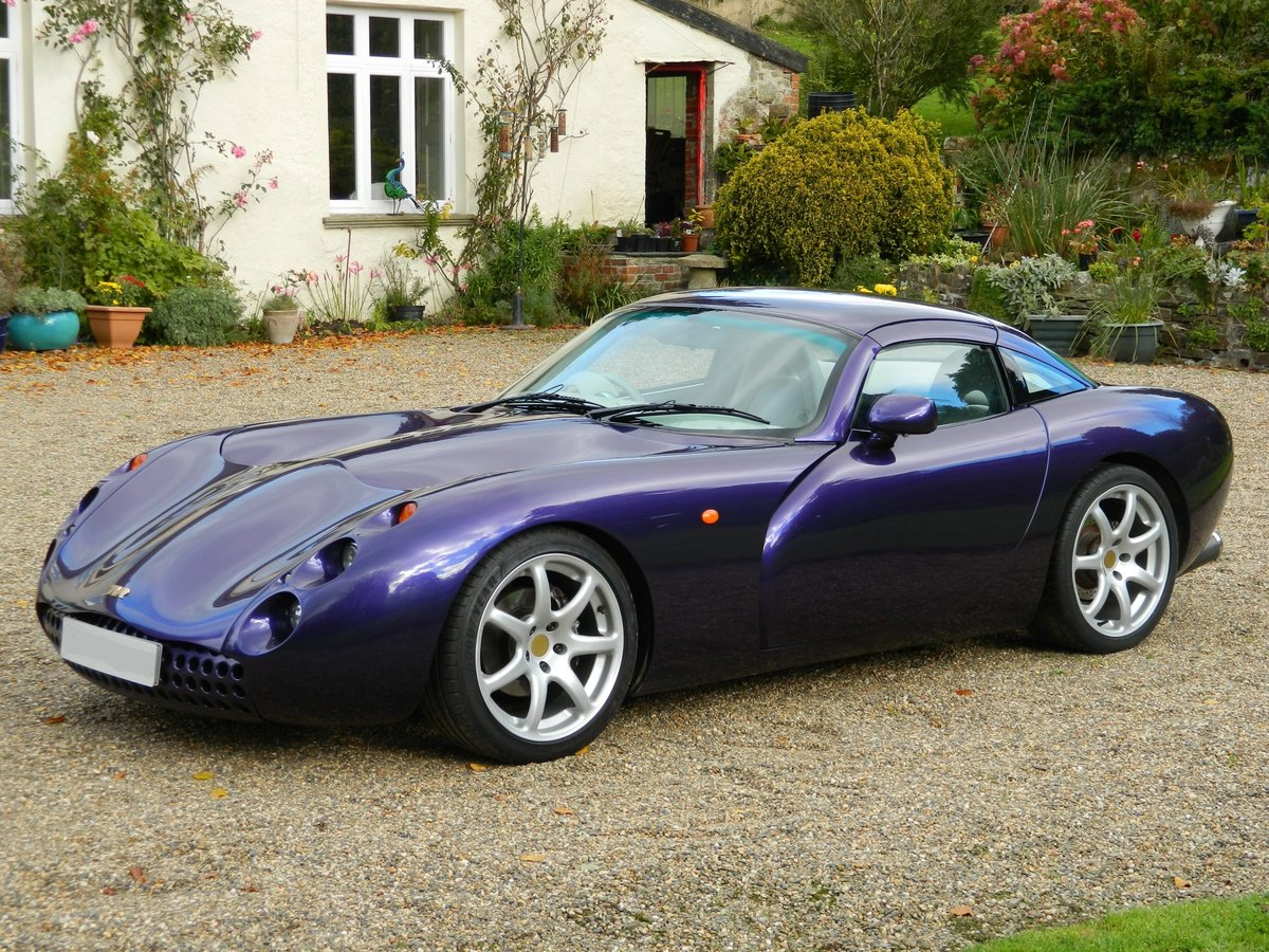 2000 TVR Tuscan Mk1 with TVR Power engine rebuilt SOLD (picture 1 of 6)