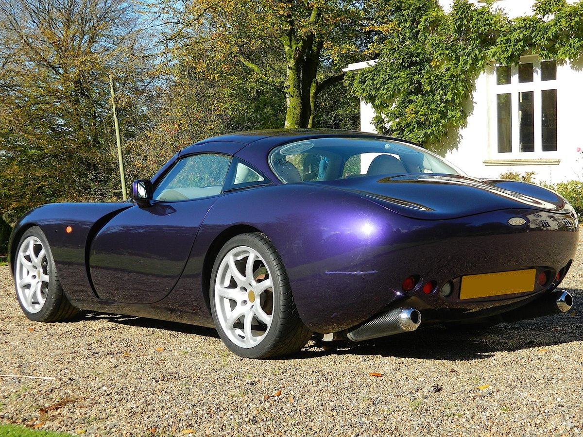 2000 TVR Tuscan Mk1 with TVR Power engine rebuilt SOLD (picture 4 of 6)