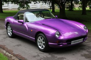 1999 TVR Chimaera 500 - Paradise for someone....  Stunning car.
