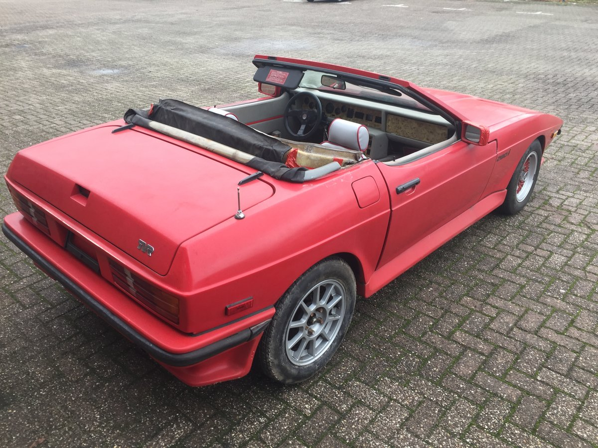 1986 TVR 280i convertible (LHD) For Sale (picture 3 of 6)