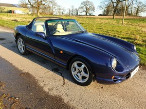 1998 TVR 4.0 Chimaera Porsche Blue Magnolia Trim PS SOLD