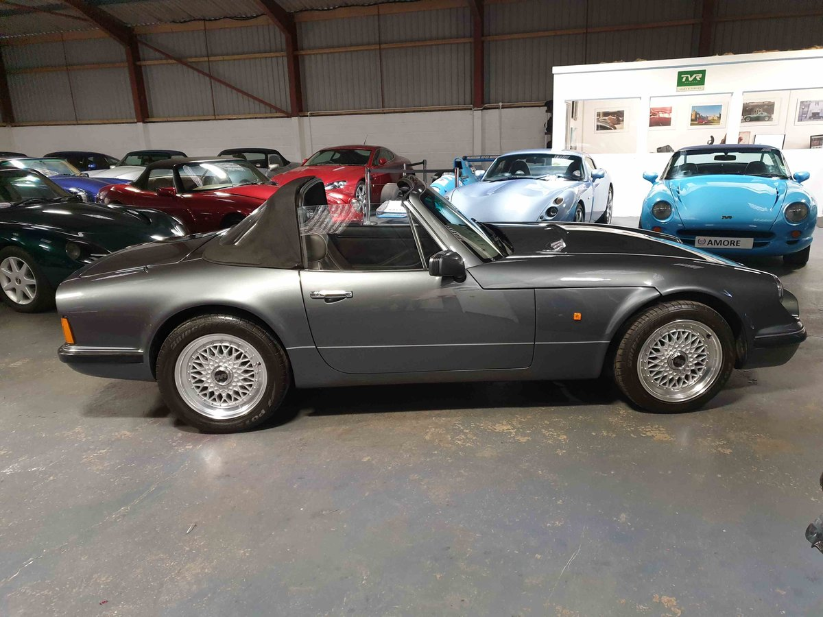 1992 TVR V8S - Metallic Storm Grey with slate trim For Sale (picture 1 of 6)