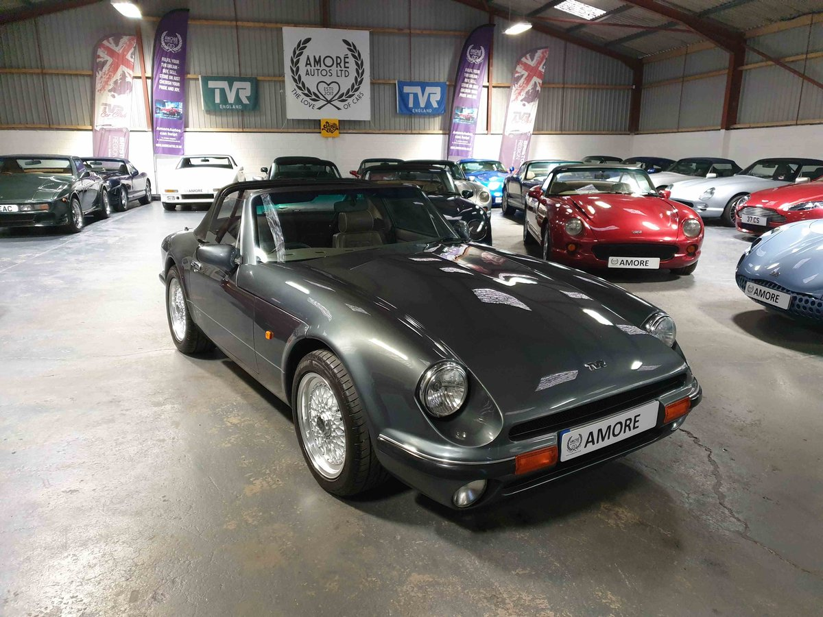 1992 TVR V8S - Metallic Storm Grey with slate trim For Sale (picture 3 of 6)