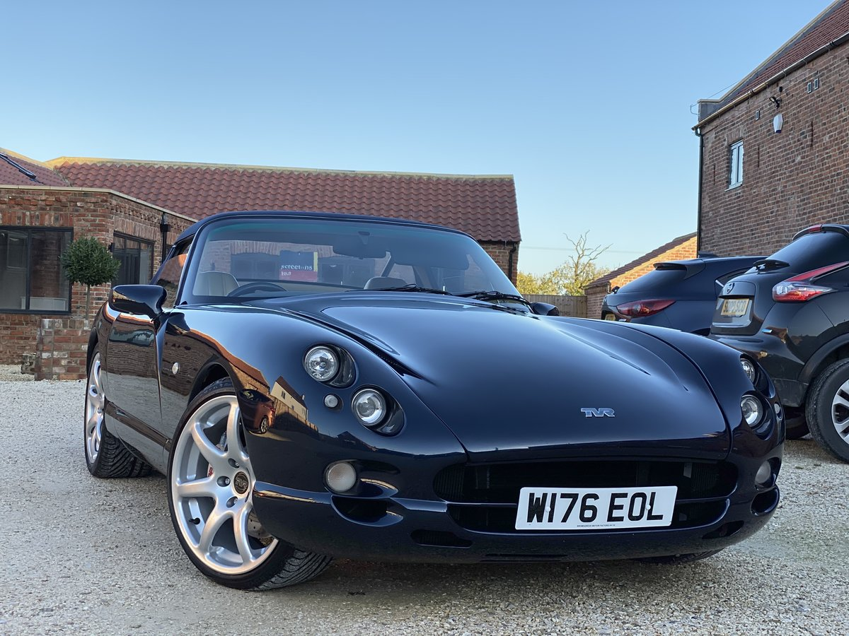 2000 TVR Chimaera 450 Turbo with 573bhp and 610lb/ft SOLD (picture 1 of 6)