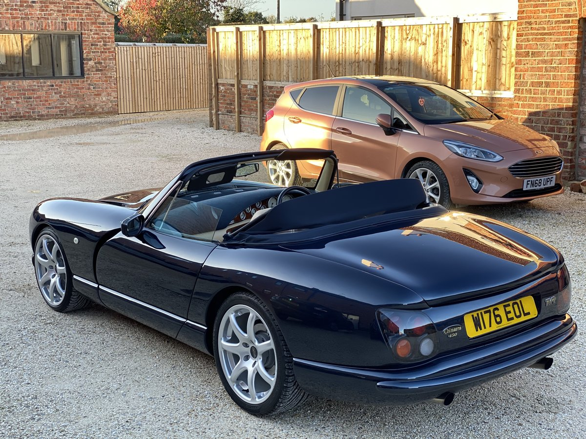 2000 TVR Chimaera 450 Turbo with 573bhp and 610lb/ft SOLD (picture 2 of 6)