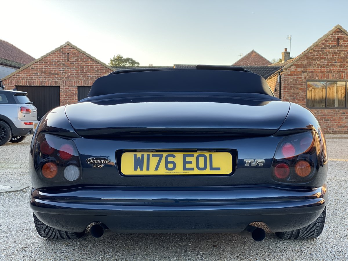 2000 TVR Chimaera 450 Turbo with 573bhp and 610lb/ft SOLD (picture 5 of 6)