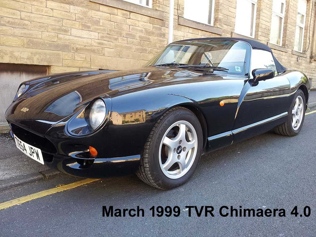 1999 TVR Chimaera 4.0 For Sale (picture 1 of 5)