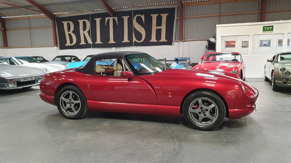 1993 TVR Chimaera 4.3 Rare (believed no.14 of 14) Factory Build SOLD (picture 3 of 6)