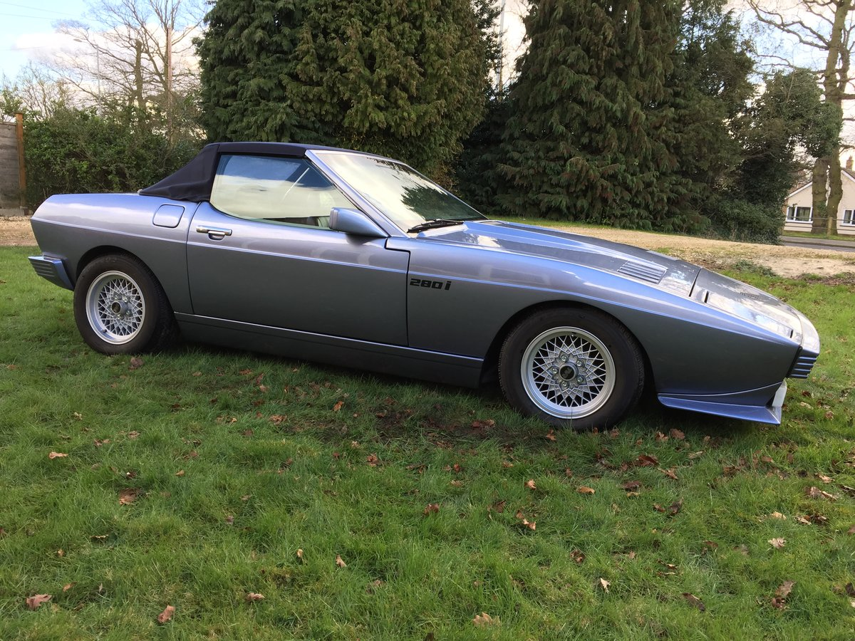 1983 TVR Tasmin 280i DHC For Sale (picture 1 of 6)
