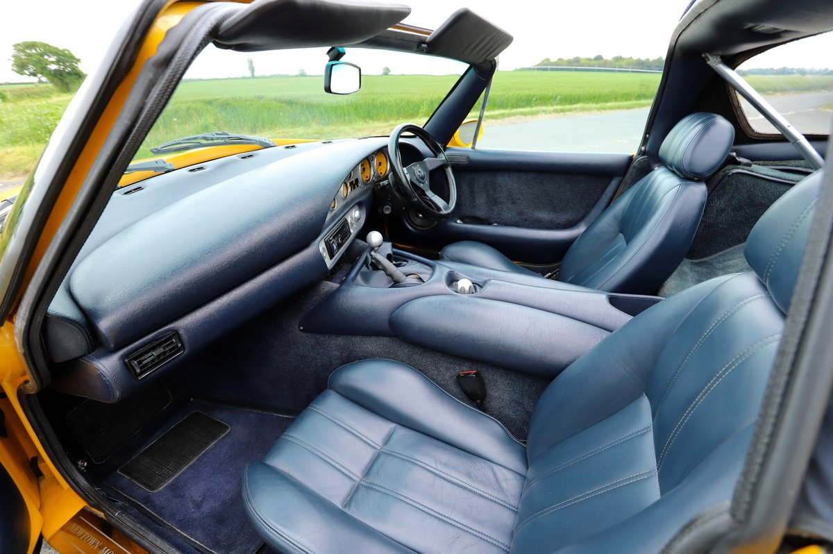 TVR Chimaera 500, 5.0L V8, 1997. Stunning example in yellow For Sale (picture 4 of 6)