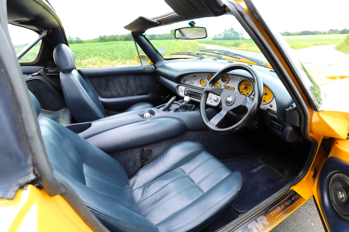 TVR Chimaera 500, 5.0L V8, 1997. Stunning example in yellow For Sale (picture 5 of 6)