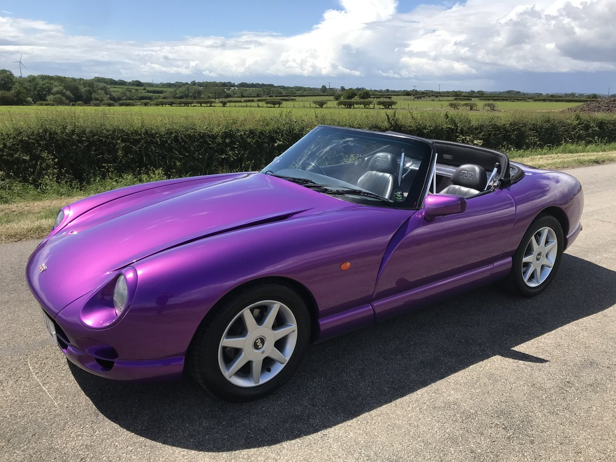 1998 4500cc Purple Paradise, Full Leather, Power Steering SOLD (picture 1 of 6)