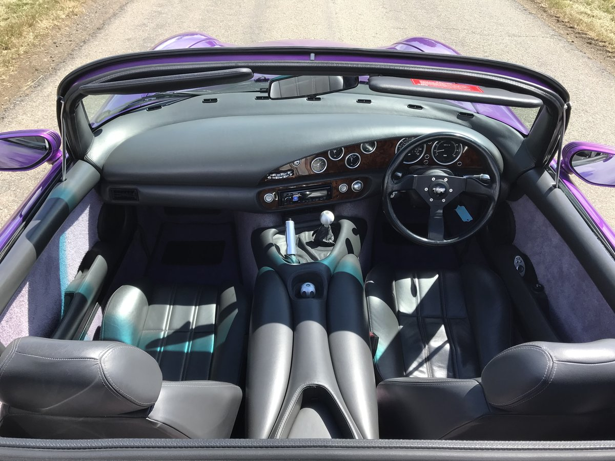 1998 4500cc Purple Paradise, Full Leather, Power Steering SOLD (picture 3 of 6)