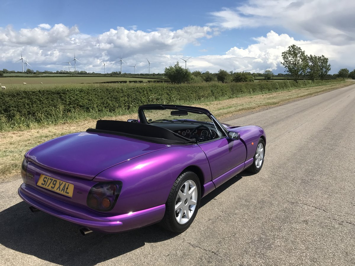 1998 4500cc Purple Paradise, Full Leather, Power Steering SOLD (picture 4 of 6)